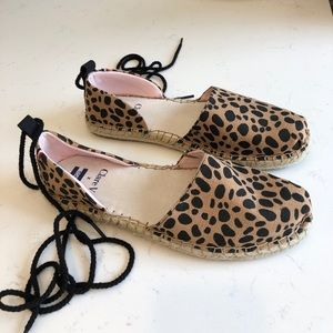 Clare V for Toms Cheetah Espadrille